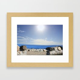 Beauty In The Distance Framed Art Print