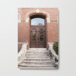 Florida Vintage Door Metal Print