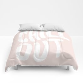Chill Out Vintage Pink Comforters