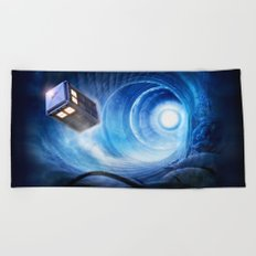 Doctor Who Beach Towel
