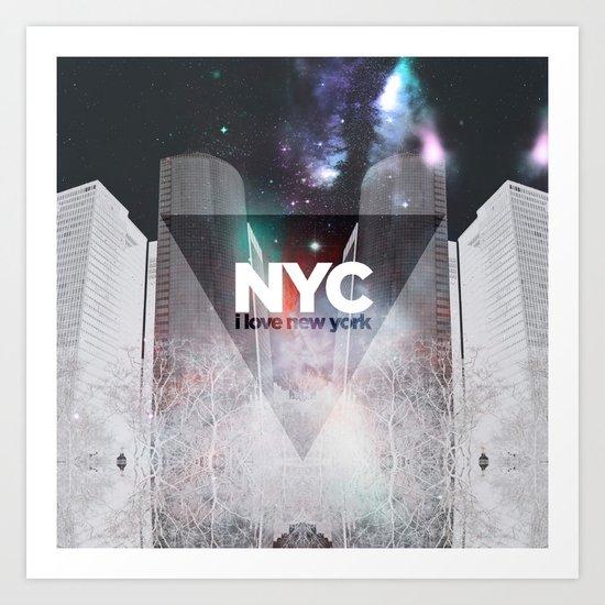 NYC - I Love New York 6 Art Print