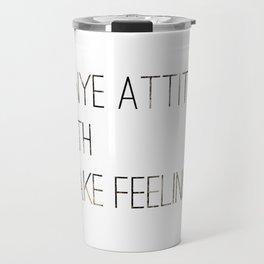 Hip Hop Attitude Poster Travel Mug