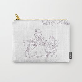 A Mad Tea Party Carry-All Pouch