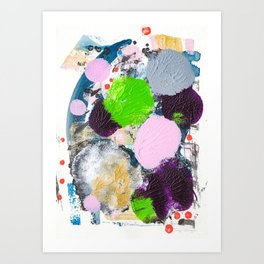 Art abstract Art Print