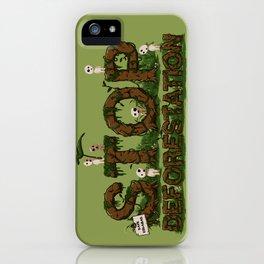Save Kodamas iPhone Case