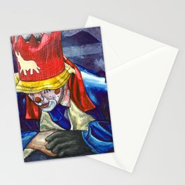 Thinking Clown Stationery Cards