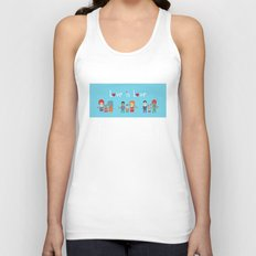 Love is Love Blue - We Are All Equal Unisex Tank Top