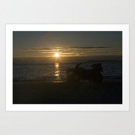 Sunset Isle Art Print