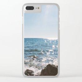 mediterranean sundance Clear iPhone Case