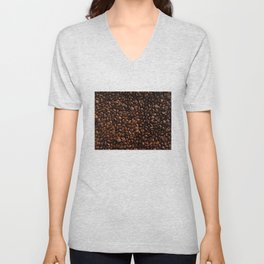 Coffee Beans Unisex V-Neck