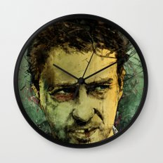 Schizo - Edward Norton Wall Clock