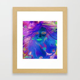 Art,fairy wood nymph,Nude ladykashmir hot ,pink,yellow,i pod,lap top,t shirt,cups,tote ,bags, Framed Art Print