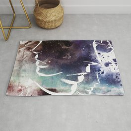Complicated Feelings Abstract ART Rug