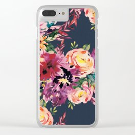 Secret Blooms Clear iPhone Case