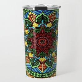Circle of Life Mandala full color Travel Mug