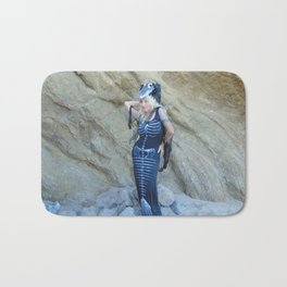 """Death Becomes Her"" by Vamplified Bath Mat"