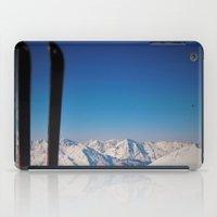 ski iPad Cases featuring ski by Vi Glory