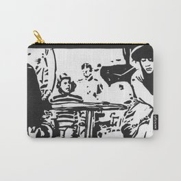 Cafe Girl Carry-All Pouch