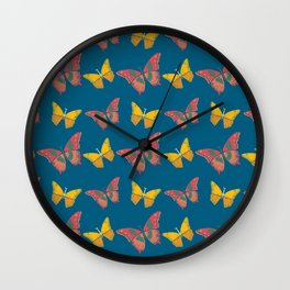 the butterfly of love. Wall Clock
