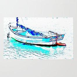 Aqua Boat Rug