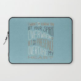 I Want to Know You (Bethel) Laptop Sleeve