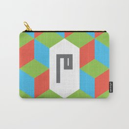 "Monogram Arabic Letter ""M"" Carry-All Pouch"