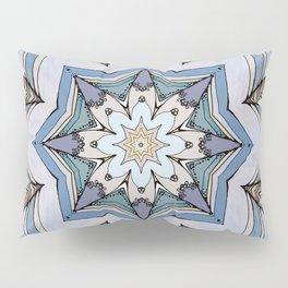 Blue star Pillow Sham