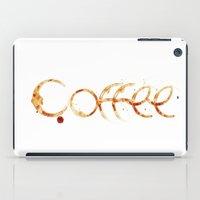 coffe iPad Cases featuring Coffe colors fashion Jacob's Paris by Jacob's 1968