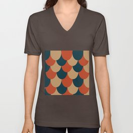 Multi-Drape Unisex V-Neck