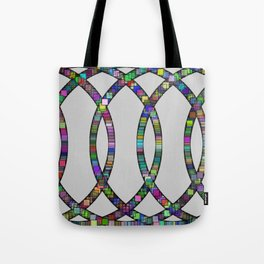 Kinetic Colors 10 Tote Bag