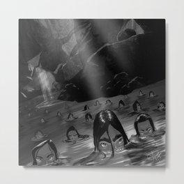 Mermaid Lagoon Metal Print