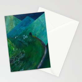 Nisja: the night train 5 Stationery Cards