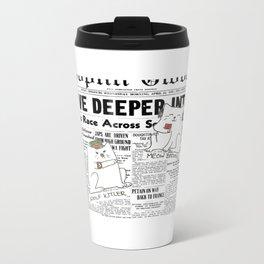 Dictator Cats Metal Travel Mug