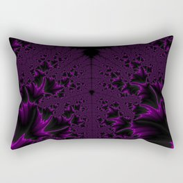 Hot Violet Rectangular Pillow
