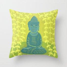 Buddha B Throw Pillow