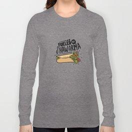 Fueled By Shawarma Long Sleeve T-shirt