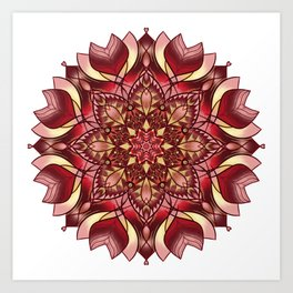 The Red Star Art Print