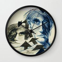 Figure reflexes Wall Clock