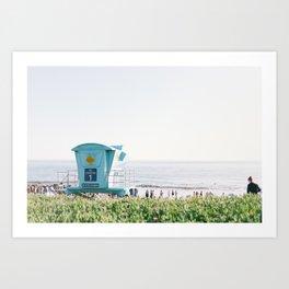 El Capitan Beach Art Print