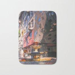 Hundertwasserhaus 3 Vienne Autriche Bath Mat