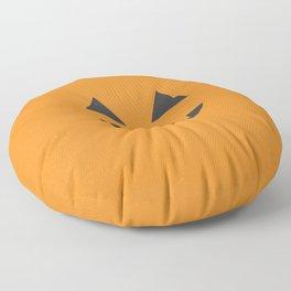 Jack-o'-lantern Floor Pillow