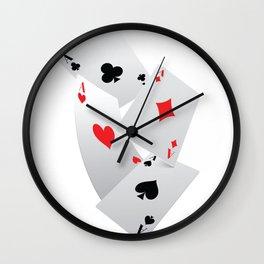 Pokergame casino Wall Clock