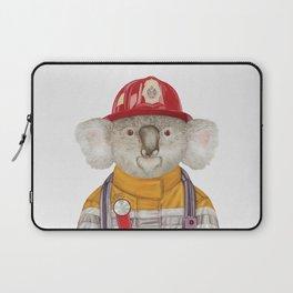 Koala Firefighter Laptop Sleeve