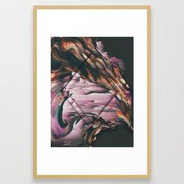 DARK ORCHID 5 Framed Art Print