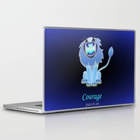 oz Laptop & iPad Skins featuring oz-courage by Jovan Dortch