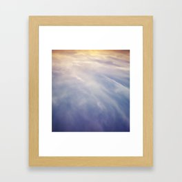 Sky Tide Framed Art Print