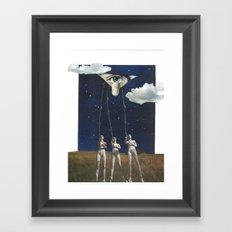 A Principle Ajar Framed Art Print