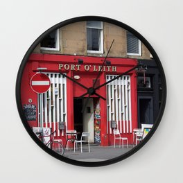 Port O'Leith Edinburgh Wall Clock