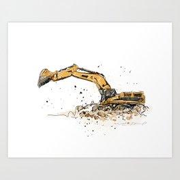 Shovel Art Print