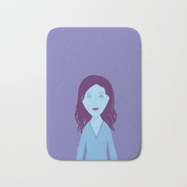 The Girl Who Remains Bath Mat
